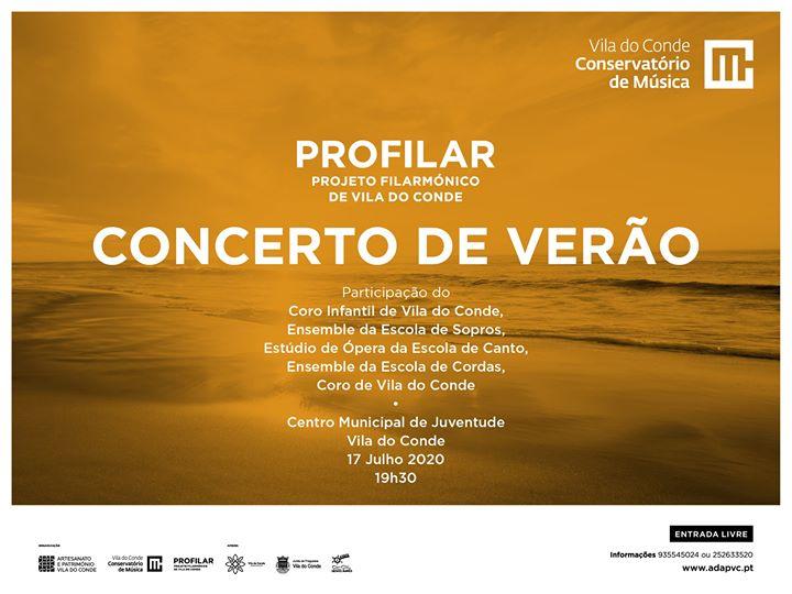 Concerto de Verão do Profilar