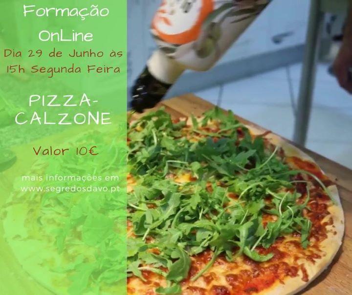 Formação OnLine - Pizza e Calzone