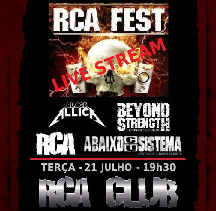 RCA Fest Live Stream - Terça 21 Julho 2020