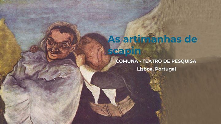 As artimanhas de Scapin | Comuna - Teatro de Pesquisa