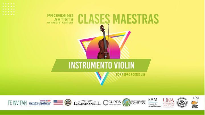 Clase maestra de violín por Curtis Institute of Music