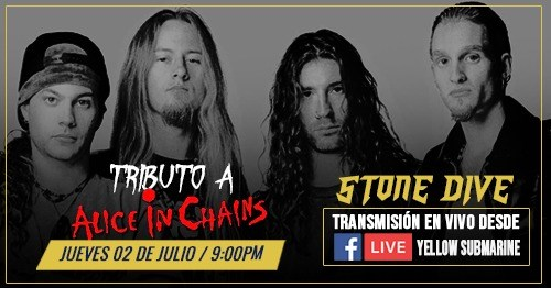 Tributo a Alice In Chains Facebook Live!