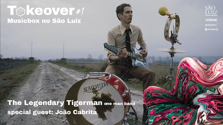 The Legendary Tigerman (one man band) - Takeover #1