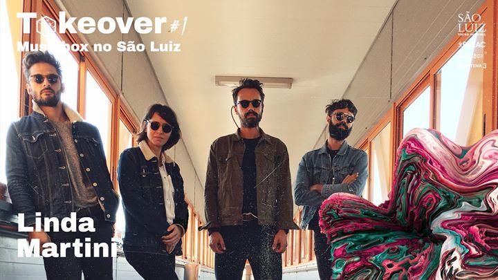 Linda Martini | Takeover #1 - Musicbox no São Luiz