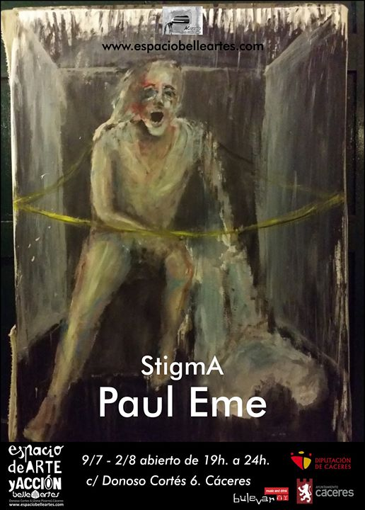 Exposición Stigma por 'Paul Eme'