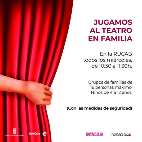"Jugamos al teatro en familia"" en la Residencia Universitaria RUCAB"
