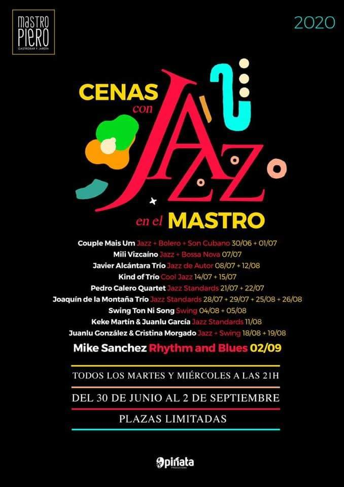 Cenas con Jazz en el Mastro