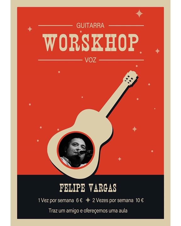 Workshop Guitarra com Filipe Vargas