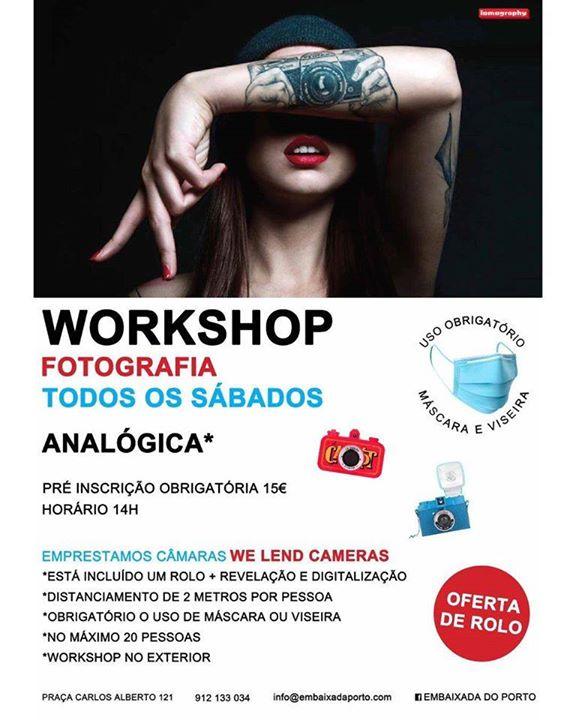 Workshop de Fotografia analogica