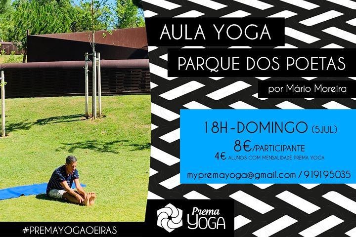Yoga no Parque dos Poetas