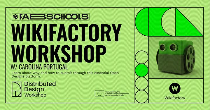 Wikifactory Workshop - Fabschools