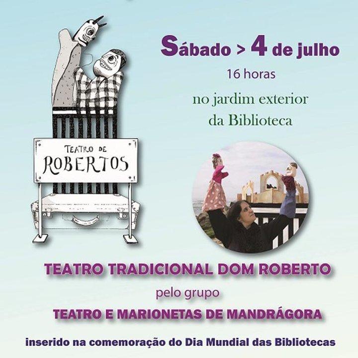 Teatro de Robertos no Jardim da ...