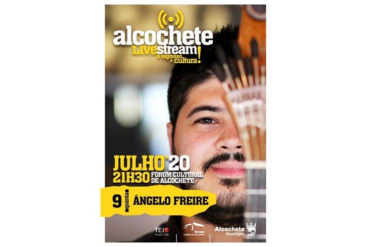 Ângelo Freire apresenta concerto intimista