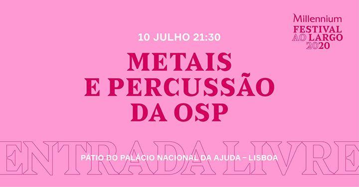 Metais e Percussão da OSP