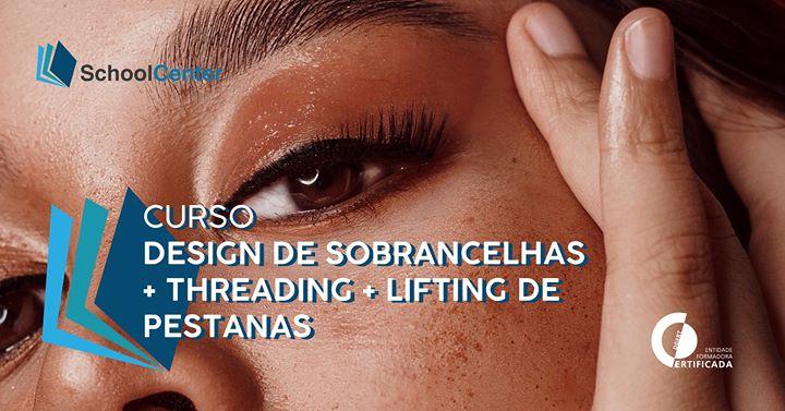 Design de Sobrancelhas, Threading, Lifting de Pestanas