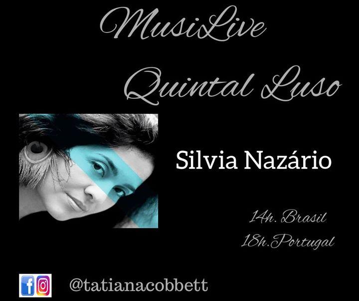 MusiLive Quintal Luso convida Silvia Nazário