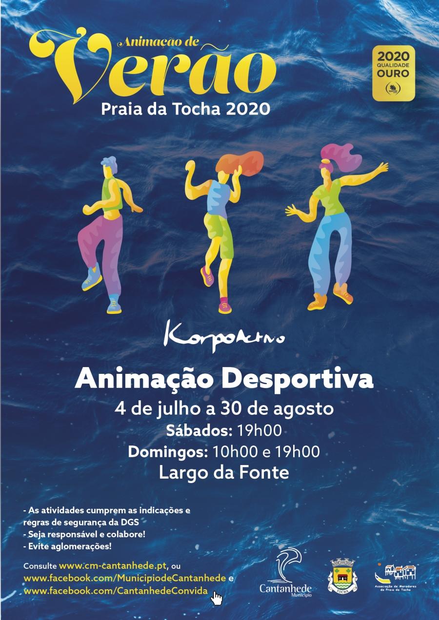 Animação de Verão Praia da Tocha - Animação Desportiva