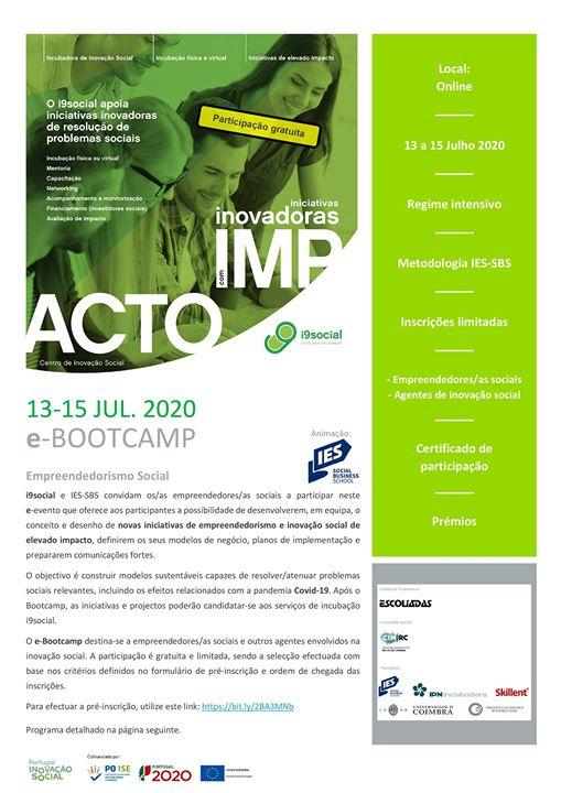 Bootcamp Empreendedorismo Social