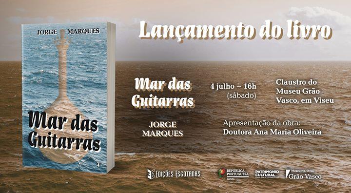 Lançamento do livro 'Mar das Guitarras'