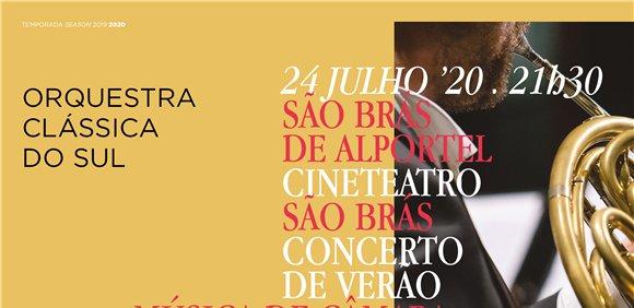 Concerto de Verão da Orquestra Clássica do Sul
