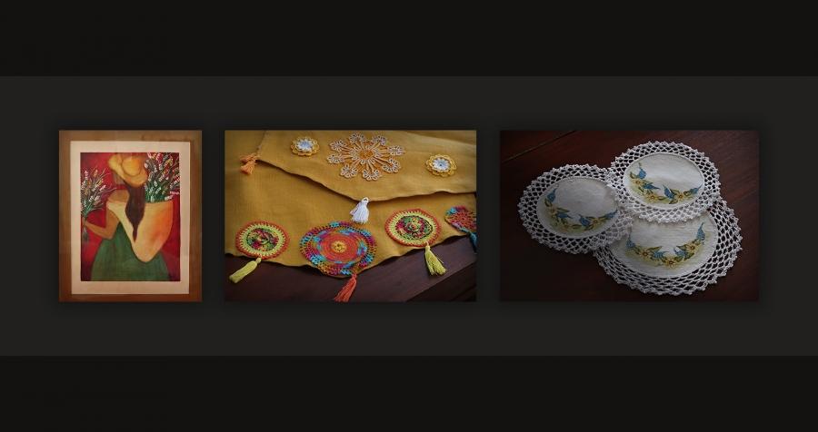 5.ª Exposição Coletiva de Pintura e Trabalhos Manuais