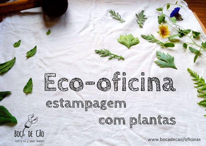 Técnica Estampagem Vegetal - EcoPrint