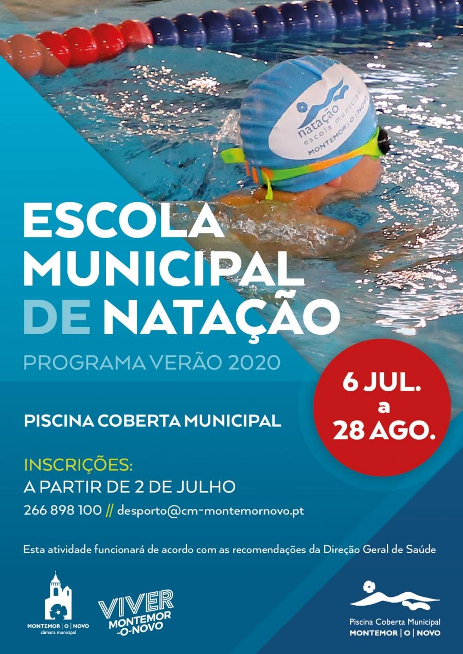 Escola Municipal de Natação - Programa Verão 2020