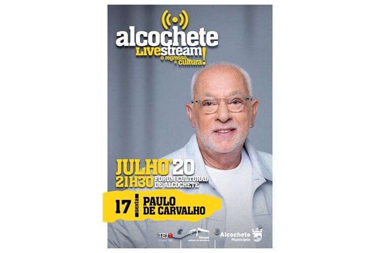 Paulo de Carvalho regressa a Alcochete