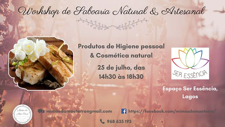 Workshop de Saboaria Natural & Artesanal