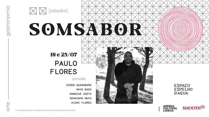 Paulo Flores ao vivo no SomSabor