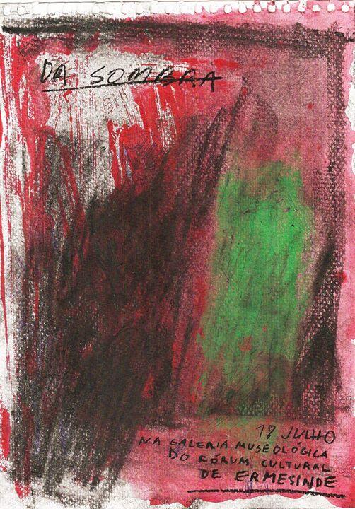 'Da Sombra': Exposição final de pintura