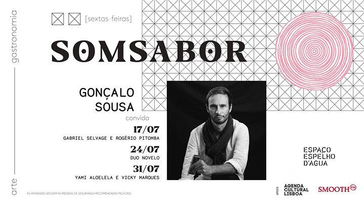Gonçalo Sousa convida ao vivo no SomSabor