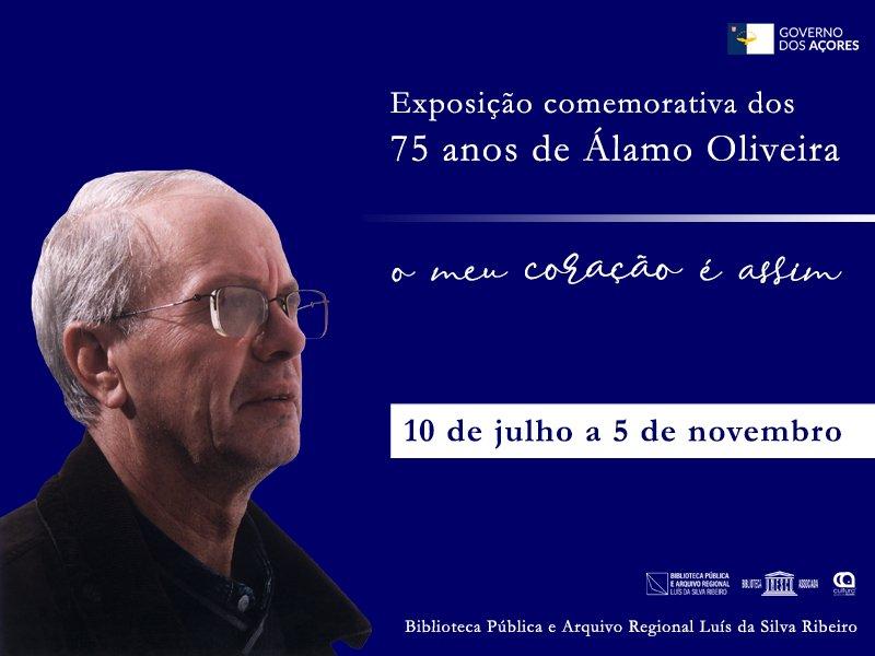 """""""O Meu Coração é Assim"""" - Exposição comemorativa dos 75 anos de Álamo de Oliveira"""