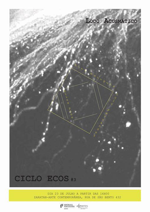 CICLO ECOS #3 | Lodo Acusmático