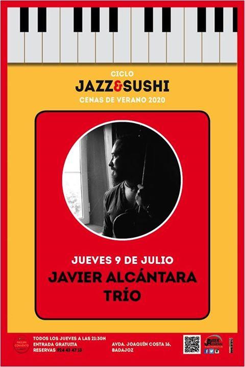 Javier Alcántara Trío-Cenas de Verano Jazz & Sushi