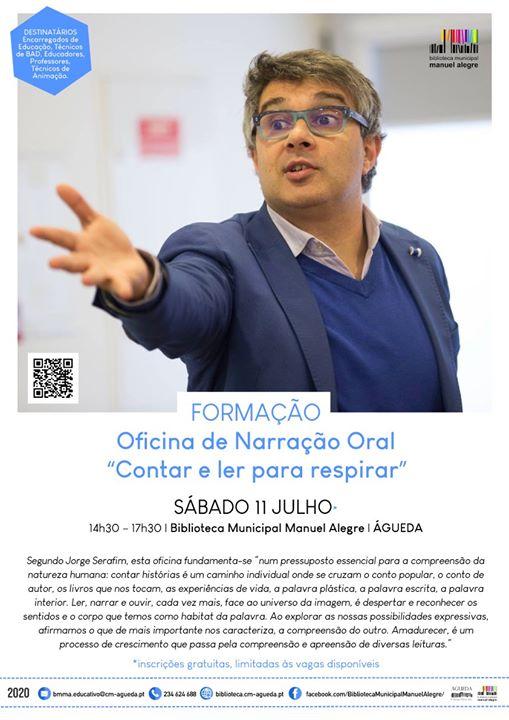 Oficina de Narração Oral | Jorge Serafim
