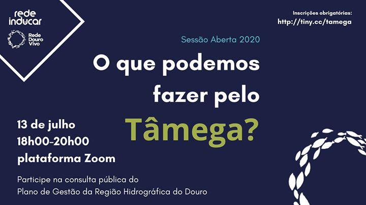 Sessão Aberta 2020: O que podemos fazer pelo Tâmega?