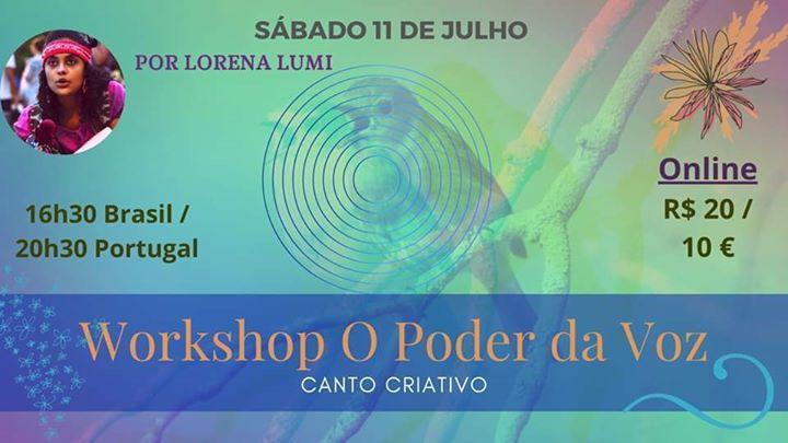 Workshop 'O Poder Da Voz'