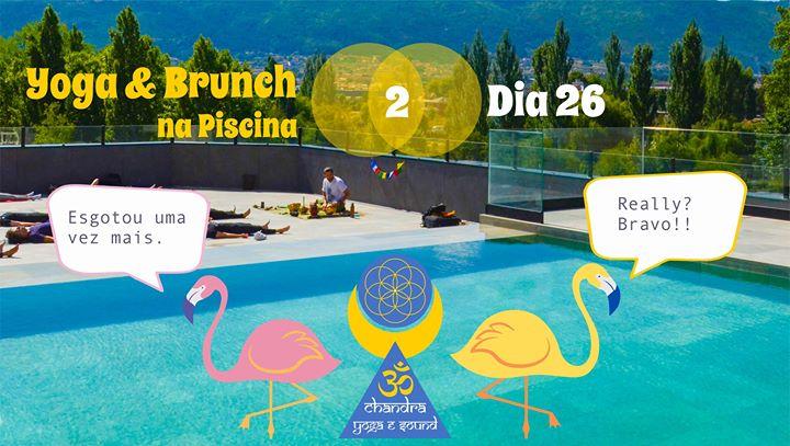 Yoga & Brunch na Piscina 2 Esgotado