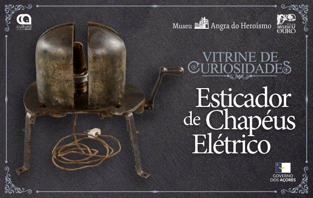 Vitrine de Curiosidades: Esticador de Chapéus Elétrico