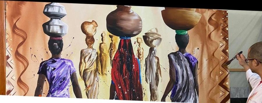 3 Tintas | Exposição de Pintura