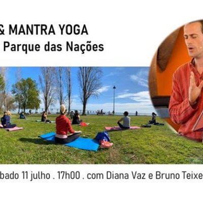 Hatha Yoga e Mantra Yoga ao Ar Livre, no Parque das Nações