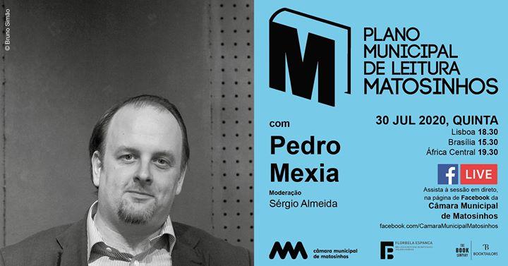 Plano Municipal de Leitura com Pedro Mexia