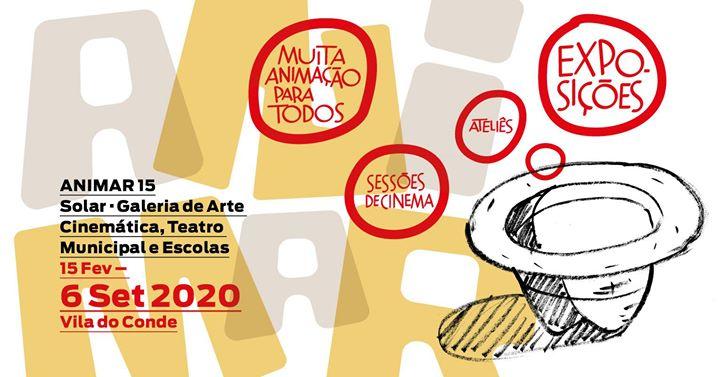 Visita guiada com Regina Pessoa à exposição Animar 15