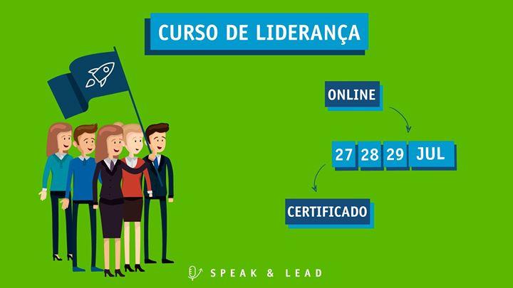 Curso de Liderança - Live Training – 27, 28 e 29 Julho