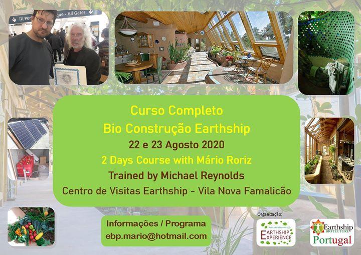 Curso Completo Bio Construção Earthship