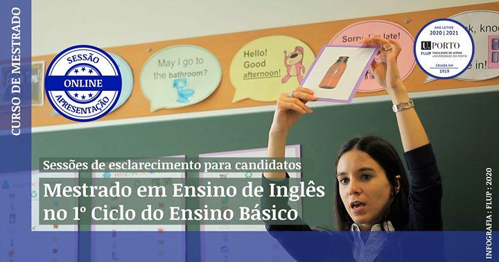Mestrado em Ensino de Inglês no 1º Ciclo do Ensino Básico