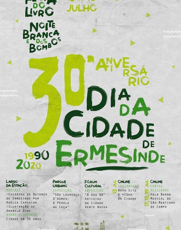 30.º aniversário de elevação de Ermesinde ...