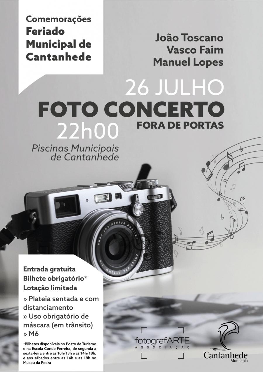 Comemorações do Feriado Municipal - Foto Concerto Fora de Portas