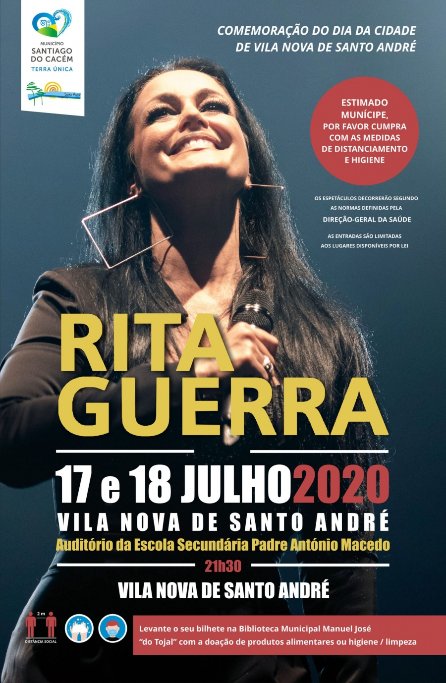 Espetáculo com Rita Guerra